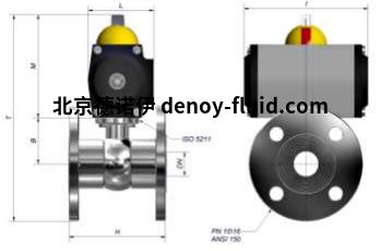 Burocco气动球阀VSP  FL UNI细节