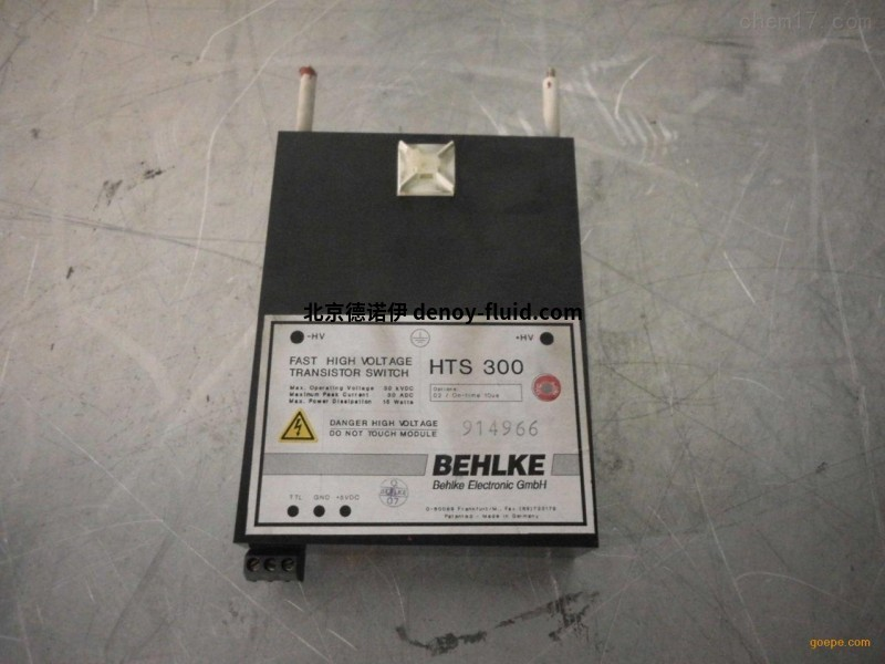 BEHLKE德国进口 HTS-HB系列的开关 用于激光和医疗行业