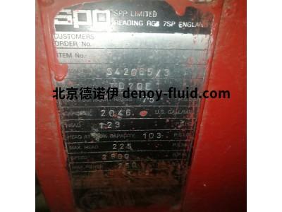 英国SPP PumpsN1-000L-H07消防水泵用于海上油气应用