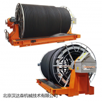 Conductix应用于钢缆的电缆拖令系统