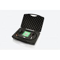 grindaix冷却剂显示屏 - 显示润滑剂出口速度、压力和体积流的实时显示单元