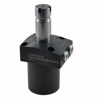 德国hydrokomp带位置控制的扶轮杆夹 螺纹身体气缸