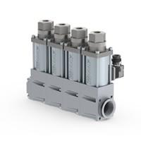 COAX电磁阀MK 10 NC G1/2 24VDC 40Bar